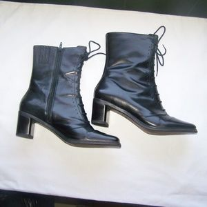 Danelle Womens Ankle Boots Size 8 1/2 Leather